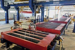 خط تولید تراورس بتنی پیش تنیده به روش غیر پیوسته تراورس تراورس پیش تنیده تراورس قطار تراورس قطار شهری
