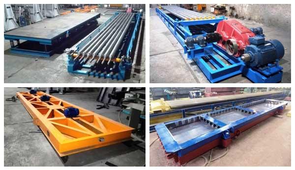 ساخت دال بتنی هالوکر با استفاده از قالب، دستگاه کشنده، صفحه فشاری و میز ویبره Hollow-Core-Slab