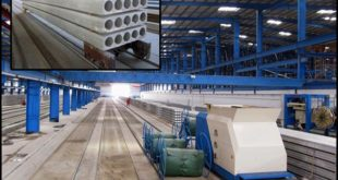 Prestressed Concrete Hollow Core Slabs Production Line, Extruder Machine, Slipformer Machine