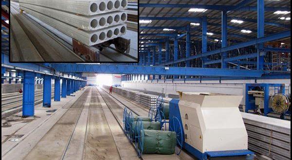Prestressed Concrete Hollow Core Slabs, Lightweight Wall Panel, Extruder Machine, Slipformer Machine