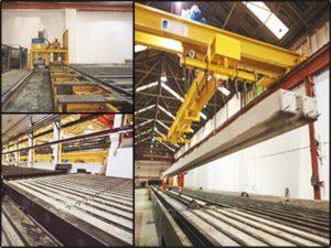 Concrete Piles Production Line Machinery, قالب شمع بتنی پیش تنیده, خط تولید شمع بتنی پیش تنیده