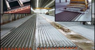 Prestressed Concrete T-Beam Production Line - Slipformer Machine