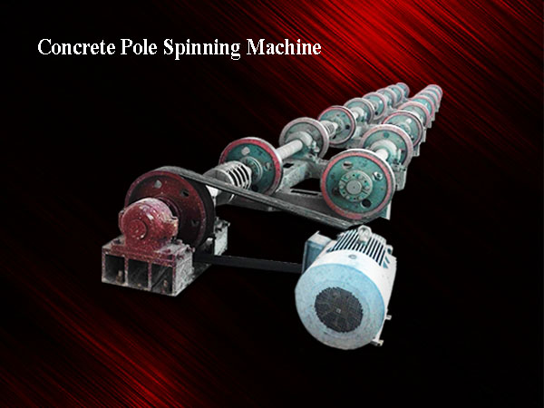 Concrete Pole Spinning Machine