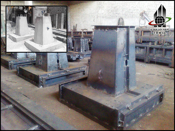 Precast Concrete Pole Base Mold