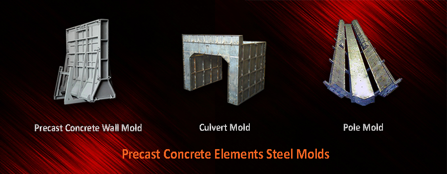 Precast Concrete Steel Molds
