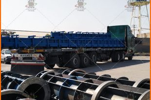 قالب پایه بتنی اچ - Concrete Pole Steel Molds